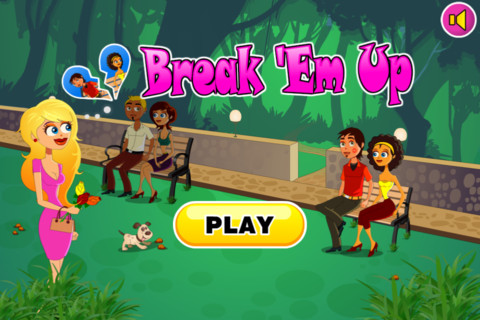 Break Em Up App on iTunes Store