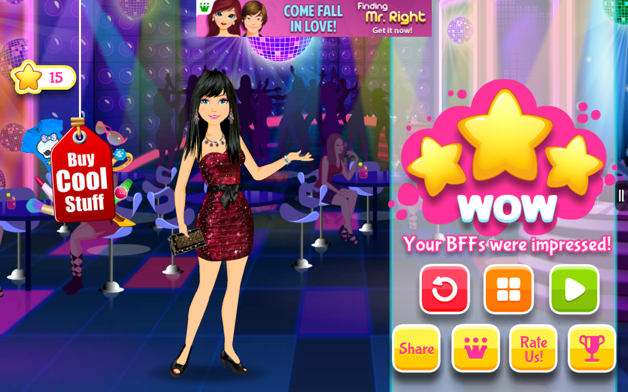 BFF High School Fashion Game Screenshot 2